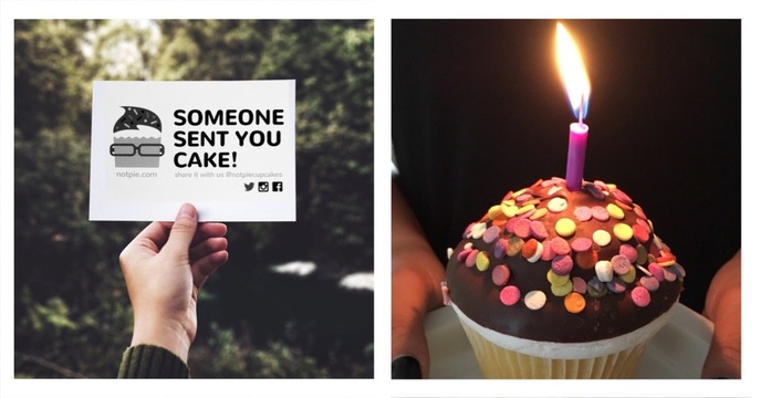 How to send a birthday cake online