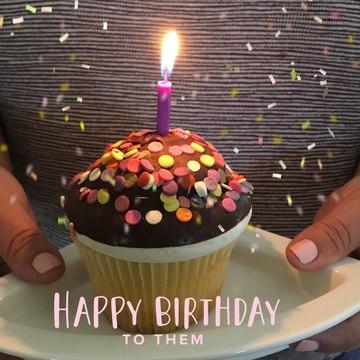 Personal Sized Birthday Cake