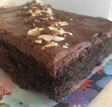 Medium hero keto brownie